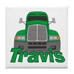 Trucker Travis Tile Coaster