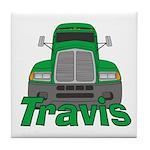Trucker Travis Tile Coaster