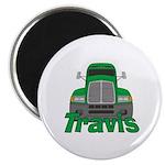 Trucker Travis Magnet