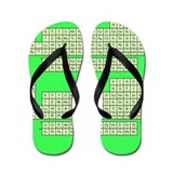 Periodic Table Flip Flops - Green