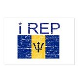 I Rep Barbados Postcards (Package of 8)