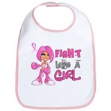 Fight Like a Girl 42.8 Breast Cancer Bib