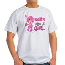 Fight Like a Girl 42.8 Breast Cancer T-Shirt