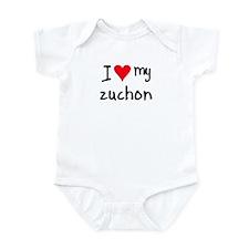 I LOVE MY Zuchon Infant Bodysuit