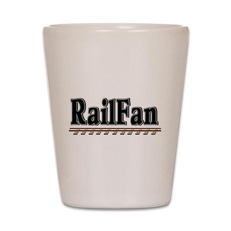 Railfan Shot Glass