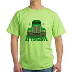 Trucker Tristan Green T-Shirt
