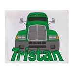 Trucker Tristan Throw Blanket