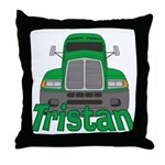 Trucker Tristan Throw Pillow