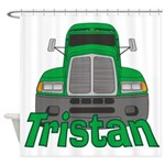 Trucker Tristan Shower Curtain