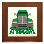 Trucker Tristan Framed Tile