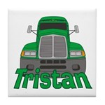 Trucker Tristan Tile Coaster