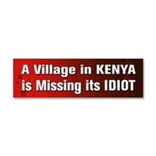 A Village In Kenya Is Missing Its Idiot Car Magnet