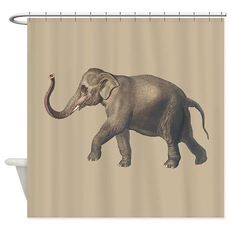Animal gifts gt animal bathroom d 233 cor gt elephant shower curtain