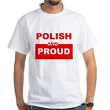 POLISH AND PROUD SHIRT TEE SH Shirt