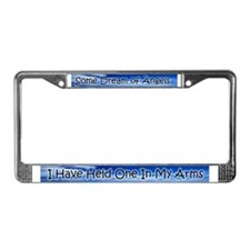 Cute Daddy's angel License Plate Frame