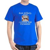 Run, Hillary, run! - T-Shirt