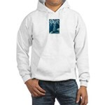 daisies in a vase stilllife Hooded Sweatshirt