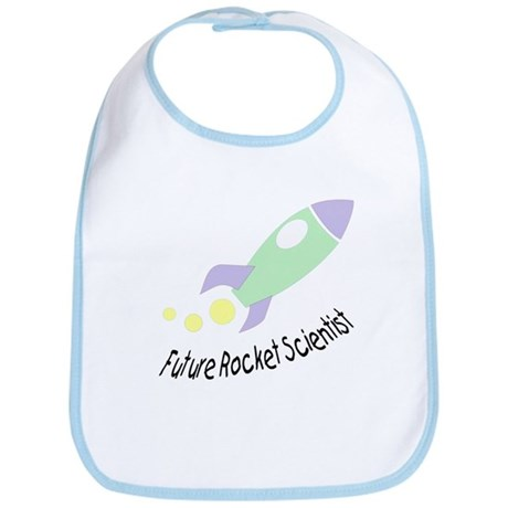 Baby Rocket Scientist Bib