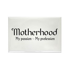 Motherhood for light backgrounds Rectangle Magnet