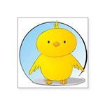 Whee! Chick v2.0 Square Sticker 3