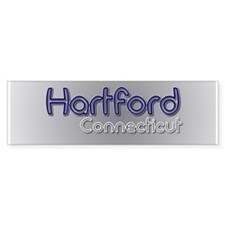 Hartford Connecticut Bumper Sticker