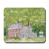 Manor House in Spring Mousepad