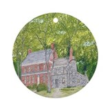 Manor House in Spring Ornament (Round)