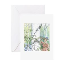 Swedish Spring Greeting Card