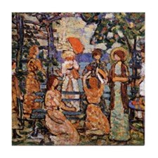 At the Ocean, Prendergast Tile Coaster