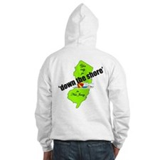 Down the shore umbrella Hoodie