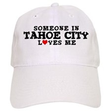 Tahoe City: Loves Me Baseball Cap