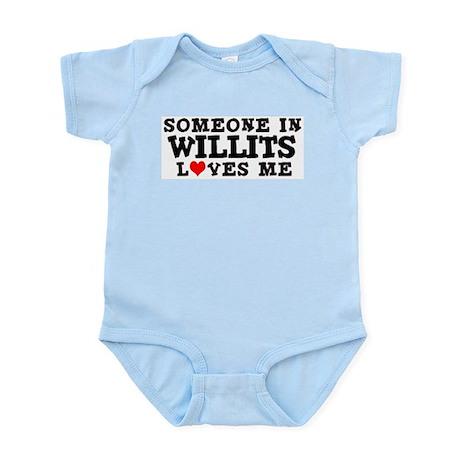 Willits: Loves Me Infant Creeper