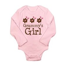 Grammy's Girl Daisies Baby Suit