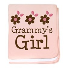 Grammy's Girl Daisies baby blanket