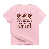 Nonna's Girl Daisies Infant T-Shirt