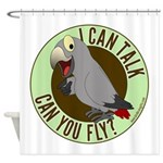 I Can Talk, Can You Fly: African Grey Timneh Showe