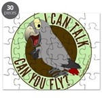 I Can Talk, Can You Fly: African Grey Timneh Puzzl