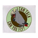 I Can Talk, Can You Fly: African Grey Timneh Stad