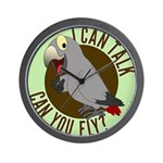 I Can Talk, Can You Fly: African Grey Timneh Wall