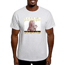 Free To Dream Ash Grey T-Shirt