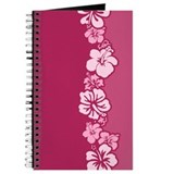 """Hibiscus Stripe"" (Pink) Journal"