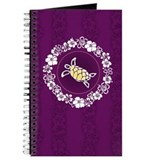 """Hibiscus Circle"" (Purple) Journal"
