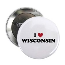 "Cool Wisconsin badgers 2.25"" Button"