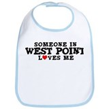 West Point: Loves Me Bib