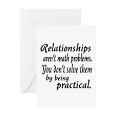 Castle Relationships Quote Greeting Card