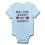 Will you marry?  Baby Onesie