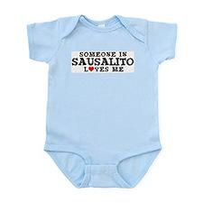 Sausalito: Loves Me Infant Creeper