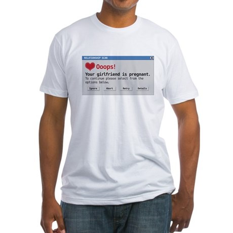 relationship scan Fitted T-Shirt