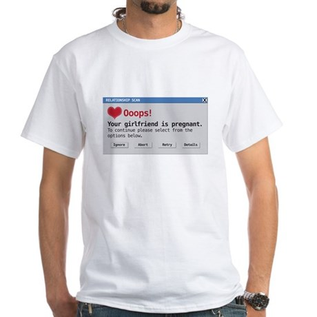 relationship scan White T-Shirt