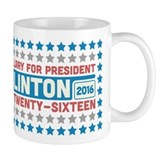Starry Hillary for President 2016 Coffee Mug